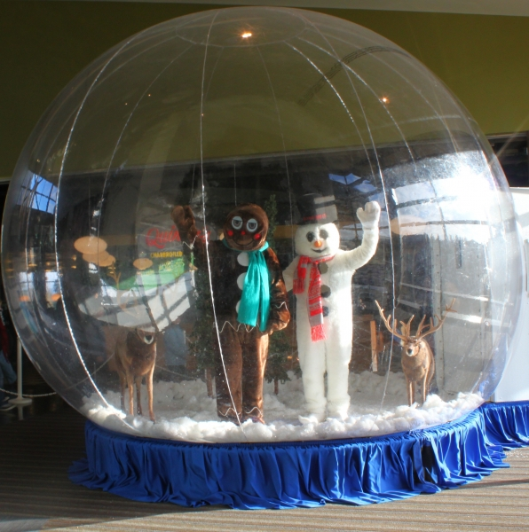 Giant Snow Globe Clowns Unlimited