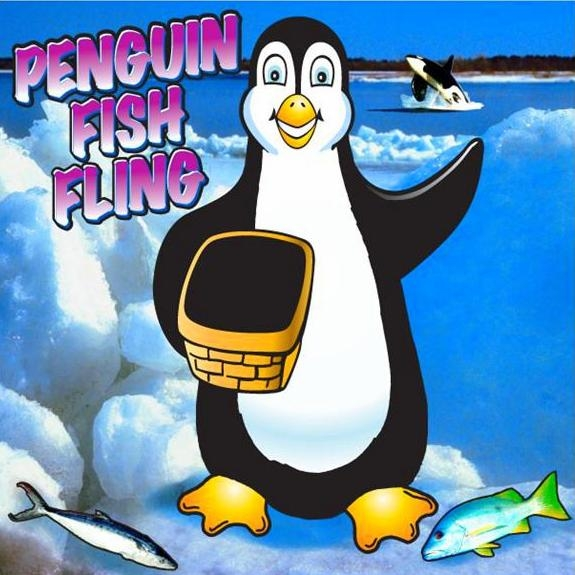 Penguin fish fling clowns unlimited for Penguin and fish